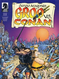 Go to Groo vs Conan #4