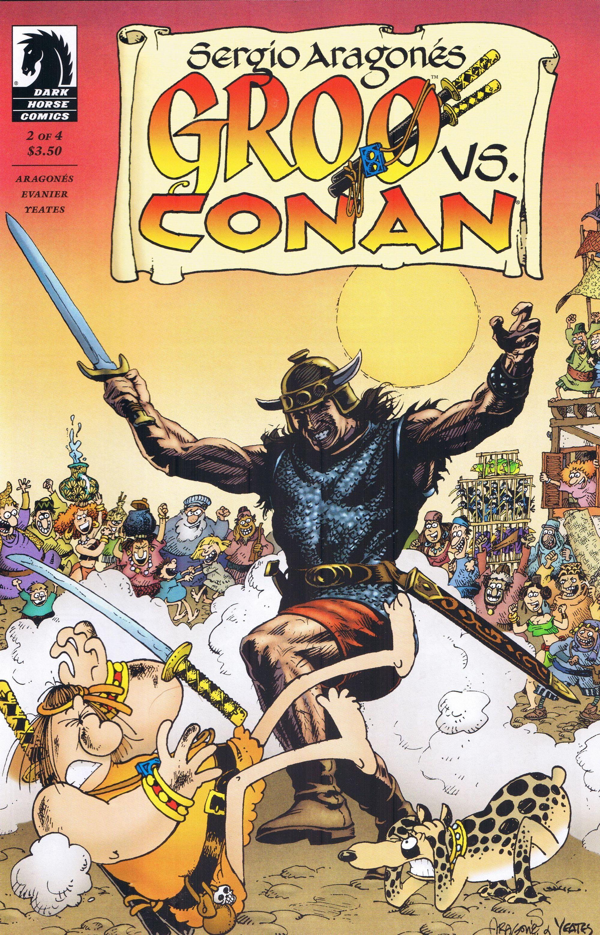 Groo vs Conan #2 • USA