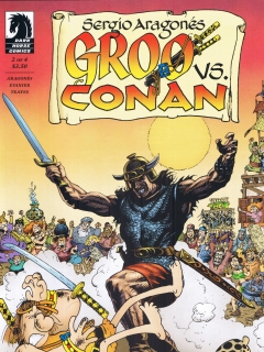 Go to Groo vs Conan #2
