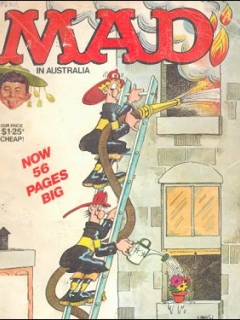 Go to MAD Magazine #219 • Australia