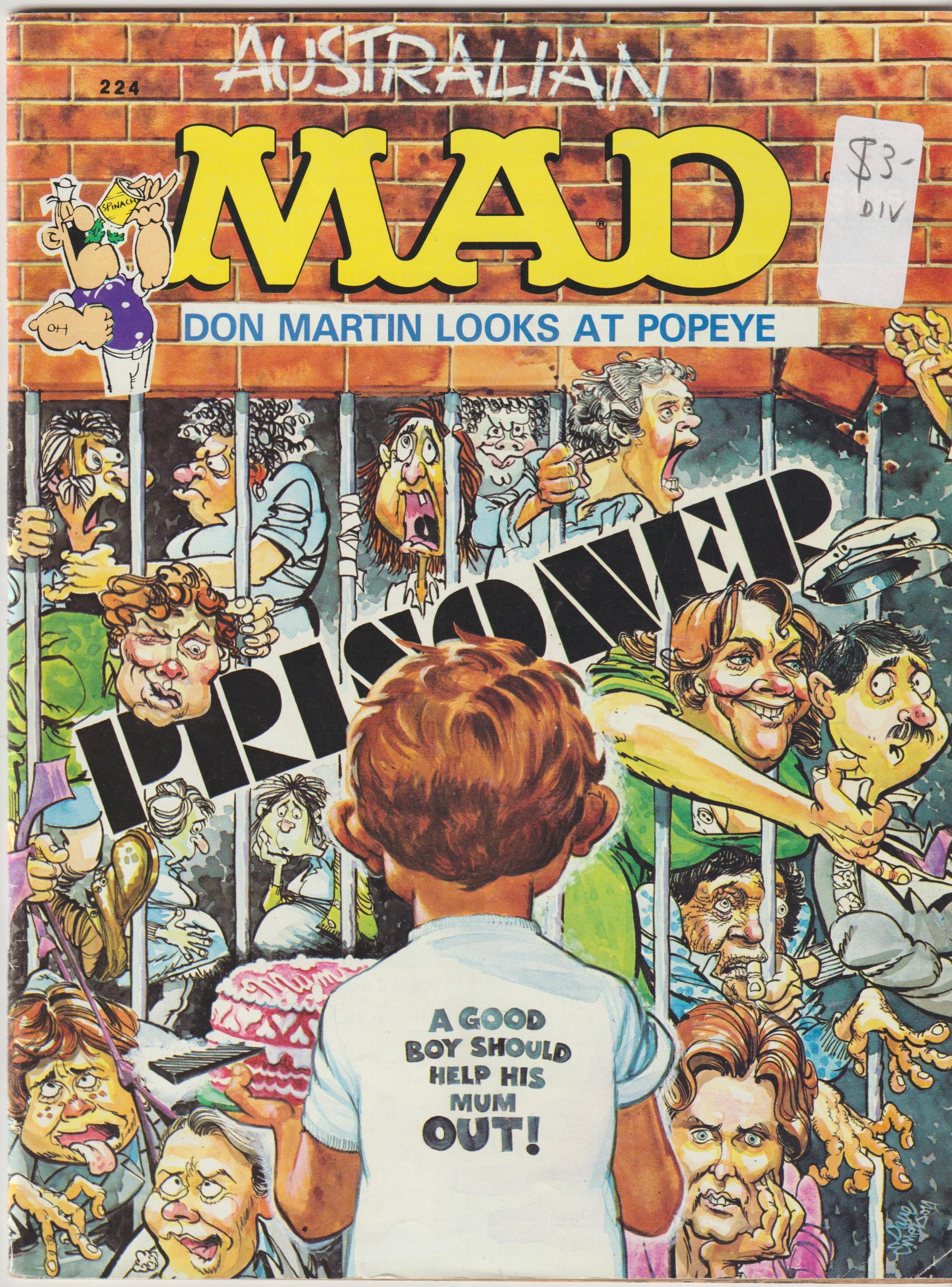 MAD Magazine #224 • Australia
