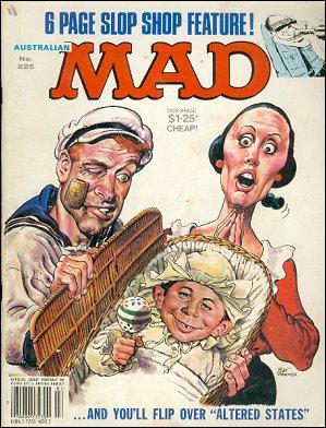 MAD Magazine #225 • Australia