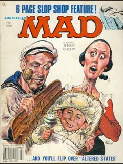 Go to MAD Magazine #225 • Australia