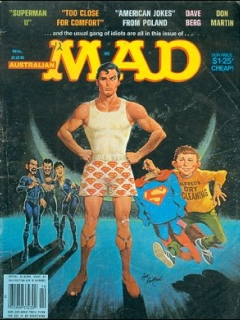 Go to MAD Magazine #226 • Australia