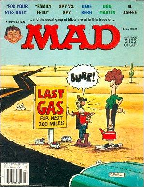 MAD Magazine #229 • Australia