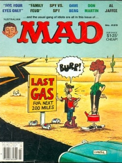 Go to MAD Magazine #229 • Australia
