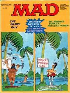 Go to MAD Magazine #233 • Australia