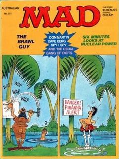 Go to MAD Magazine #233 • Australia