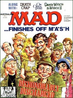 Go to MAD Magazine #234 • Australia