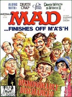 Go to MAD Magazine #234 • Australia