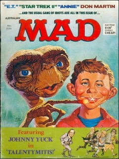 Go to MAD Magazine #236 • Australia