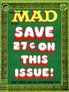 Go to MAD Magazine #237 • Australia