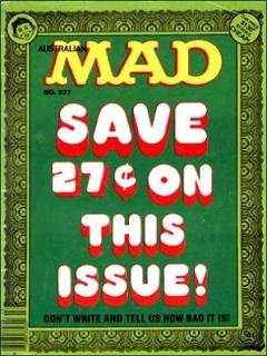 Go to MAD Magazine #237 • Australia