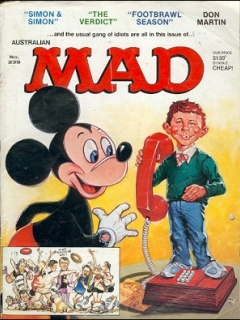 Go to MAD Magazine #239 • Australia
