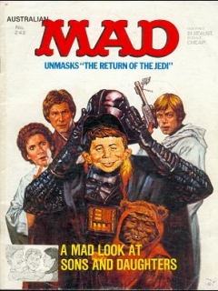 Go to MAD Magazine #242 • Australia