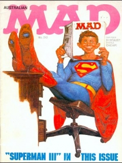 Go to MAD Magazine #243 • Australia