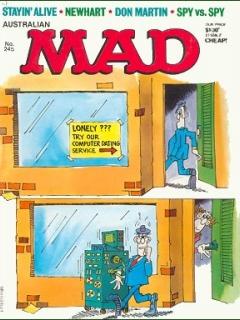 Go to MAD Magazine #245 • Australia