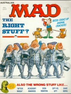 Go to MAD Magazine #247 • Australia