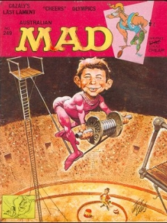 Go to MAD Magazine #249 • Australia
