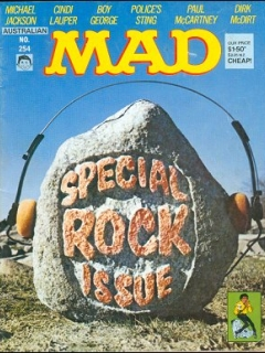Go to MAD Magazine #254 • Australia