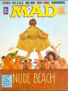 Go to MAD Magazine #257 • Australia