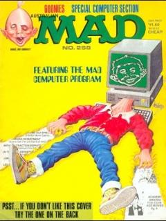 Go to MAD Magazine #258 • Australia