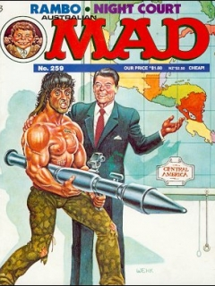 Go to MAD Magazine #259 • Australia