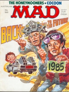 Go to MAD Magazine #260 • Australia
