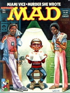 Go to MAD Magazine #261 • Australia