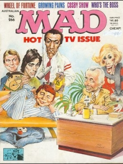 Go to MAD Magazine #266 • Australia