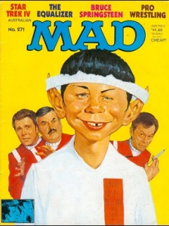 Go to MAD Magazine #271 • Australia