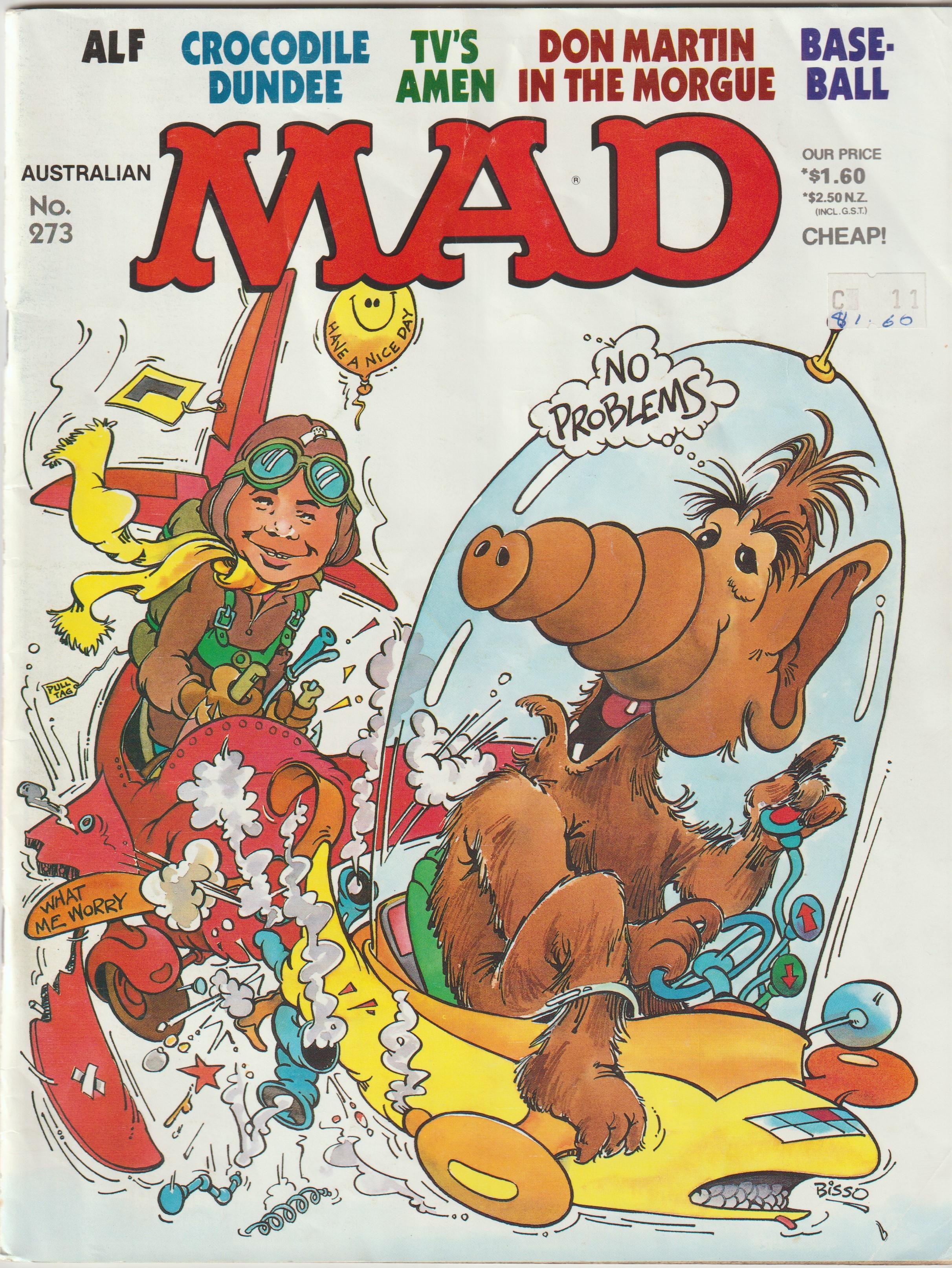 MAD Magazine #273 • Australia