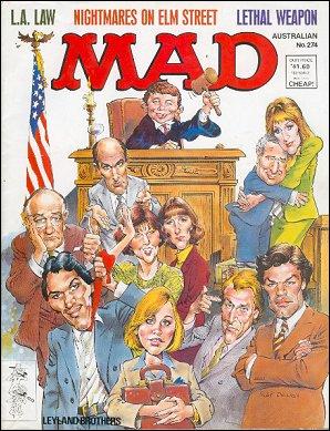 MAD Magazine #274 • Australia