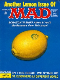 Go to MAD Magazine #281 • Australia