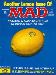 Go to MAD Magazine #281 • Australia