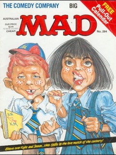 Go to MAD Magazine #284 • Australia