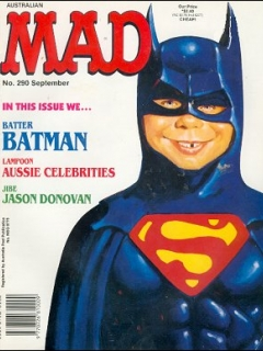 Go to MAD Magazine #290 • Australia