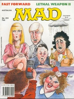 Go to MAD Magazine #293 • Australia