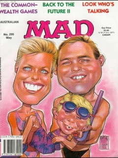Go to MAD Magazine #295 • Australia