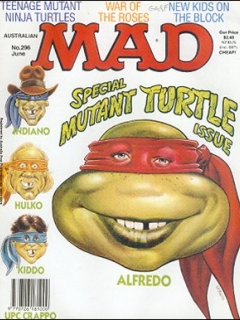Go to MAD Magazine #296 • Australia