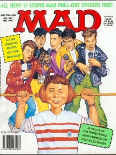 Go to MAD Magazine #301 • Australia