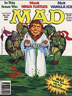 Go to MAD Magazine #306 • Australia