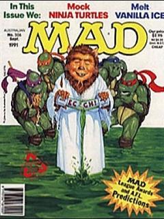Go to MAD Magazine #306 • Australia