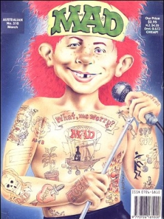 Go to MAD Magazine #310 • Australia
