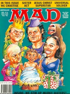Go to MAD Magazine #316 • Australia