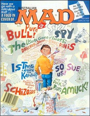 MAD Magazine #320 • Australia
