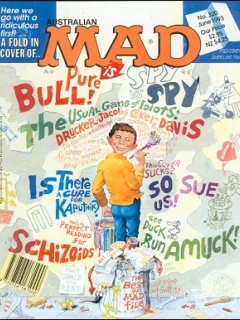 Go to MAD Magazine #320 • Australia