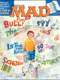 Go to MAD Magazine #320 • Australia