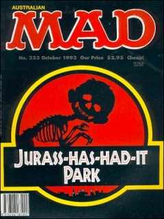 Go to MAD Magazine #323 • Australia