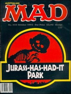 Go to MAD Magazine #323 • Australia